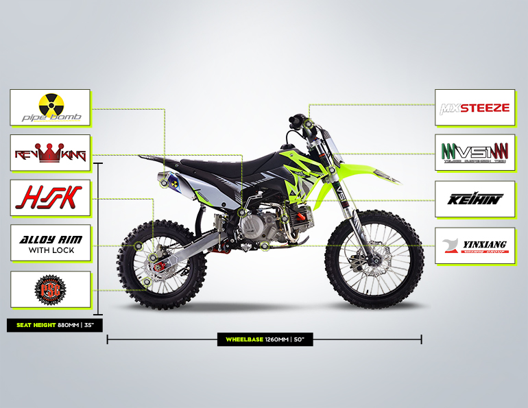 TSX190 Brands